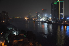 A Cairo Night by the Nile (The Spirit of the World) Tags: night river landscape view egypt nile cairo nighttime 1001nights top20night thenile wow1 1001nightsmagiccity mygearandme mygearandmepremium mygearandmebronze mygearandmesilver lphotelwindow