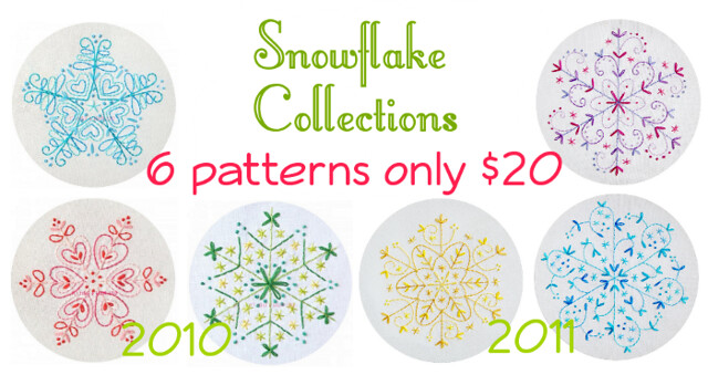 2010 + 2011 Snowflake Collections