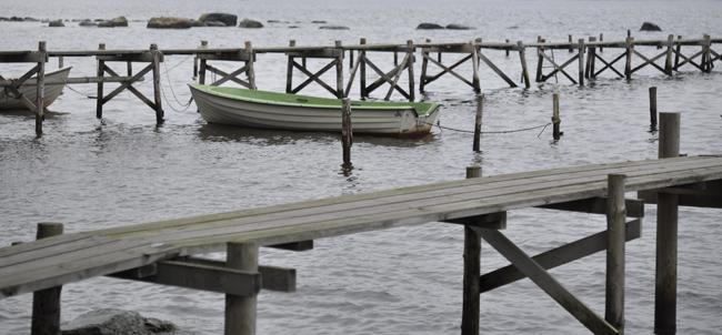 grön båt