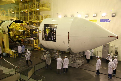 Phobos-Grunt and Yinghuo-1 fairing encapsulation