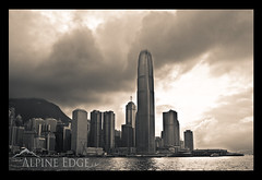 City Of Steel (AlpineEdge) Tags: ocean trip money clouds island hongkong asia downtown power skyscrapers center busy metropolis starferry expensive kowloon metropolitan bulidings victoriaharbour buisness bustling landreclaimation
