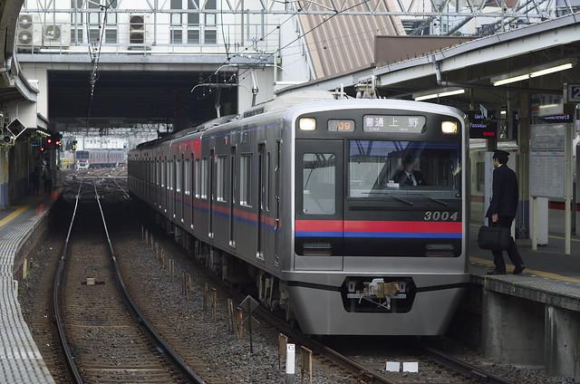 Keisei Type 3000, Takasago Station