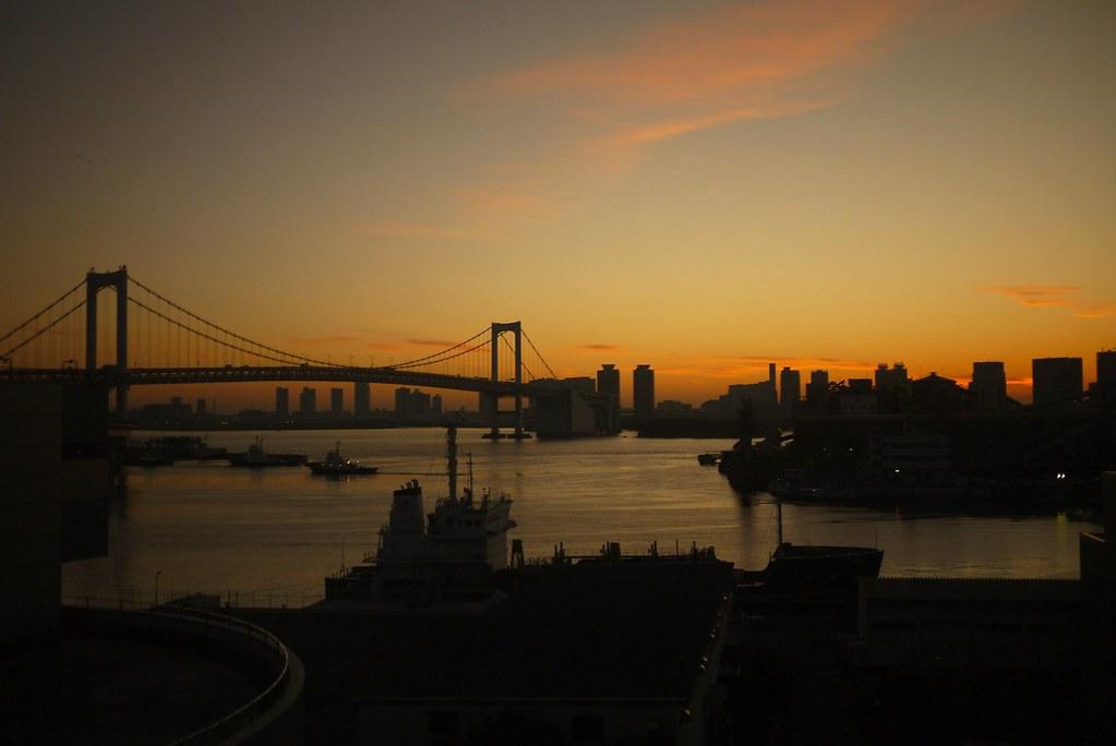 台場日出  Odaiba Sunrise