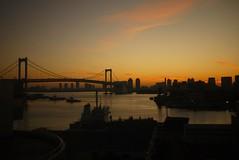 Odaiba Sunrise (Lin.y.c) Tags: tokyo odaiba 2011 gf1