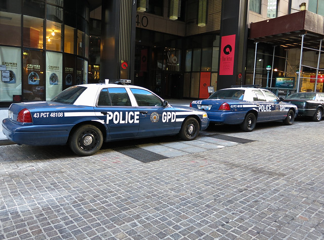 Gotham City Police Car