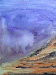 "Oficina ""Aquarela Solta e Livre"", com Maria Pacca - dia 03, 45 (Dona Mincia) Tags: brazil art rain brasil watercolor painting paper landscape chuva paisagem study workshop thunder brasiliadf aquarela tempestade mariapacca oficinadeaquarela"
