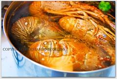 Cook: Lobster (Charlene Collins.still charlene) Tags: pepper pot jamaica lobster boiled wholelobster jamaicacharlenecollinscabbagerosedenbigh