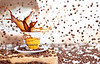 Colombia coffe splash (-JVLM-) Tags: coffee studio cafe colombia wizard f14 estudio pocket splash coffe 50mmf14 pocketwizard stobist plusii pocketwizardplusii yongnuo 5dmk2 coffeesplash jvlm coffesplash yn560