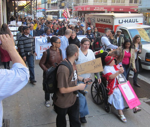 Occupy Wall Street - Washington Heights March