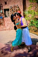 Aladdin and Jasmine (abelle2) Tags: epcot princess jasmine prince disney morocco disneyworld wdw aladdin waltdisneyworld princessjasmine disneyprincess worldshowcase disneyprince