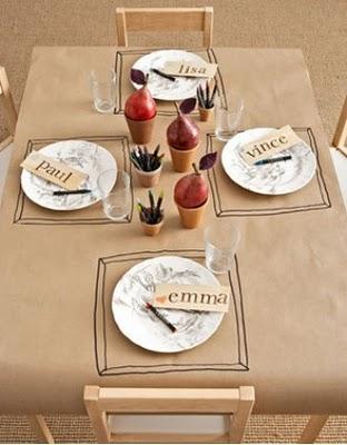 pretty thanksgiving tabletop