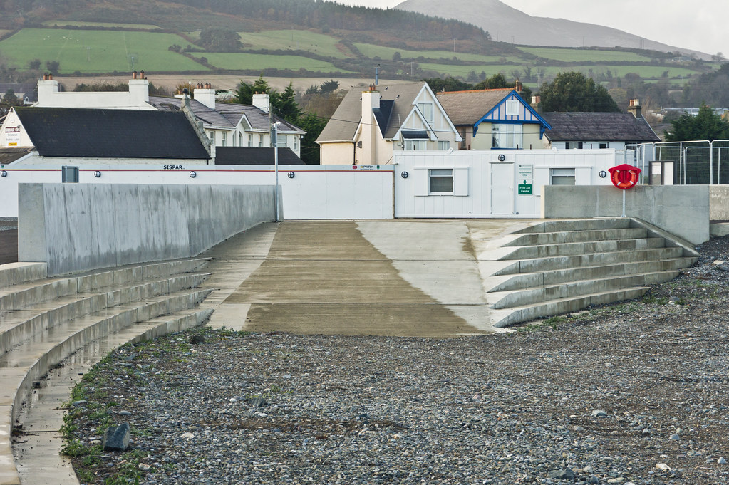 "Greystones - The ""interim harbour"" opened to the public last Saturday (November 5th)"