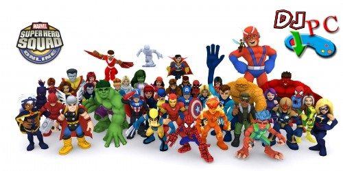 Juegos Online -  Marvel  Super Hero Squad Online