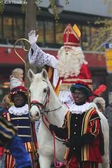 Sint te paard / Sint on horseback