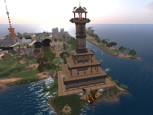 The Temple of Neptune in Nautilus Blyth