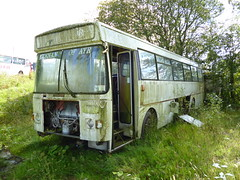 Keenan, Coalhall Leyland Plaxton RAX 804M (miledorcha) Tags: bus buses southwales wales coach derwent hills leopard elite schoolbus ayr leyland keenan psv pcv ayrshire tredegar plaxton rebody drongan coalhall rebodied psu3b4r rax804m
