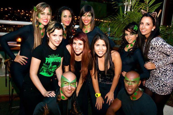 Maquilladoras y modelos