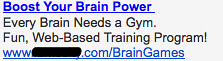 Brain Games - Ad #2