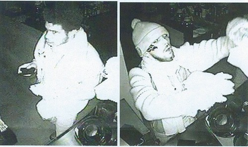 The suspects in the Souen burglarly