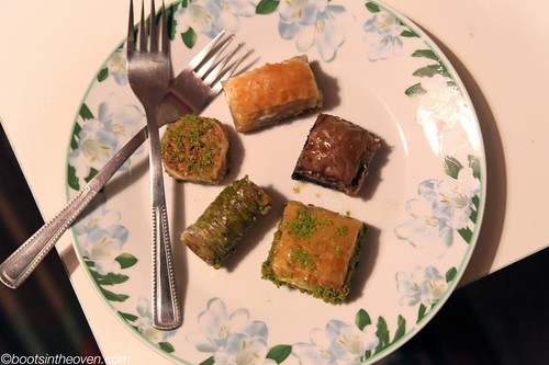 Assorted Baklava from Güllüoglu