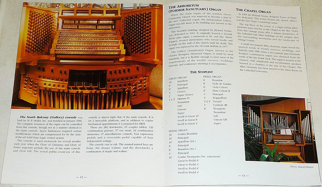 CRYSTAL CATHEDRAL Organs And Carillon Guide (8)