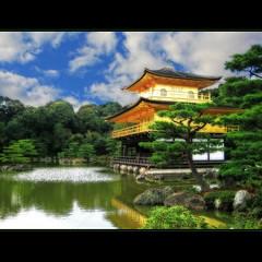 Kinkaku-ji ~ Golden Pavilion Temple - Kyoto, Japan (MacAoda8) Tags: greatphotographers goldenpaviliontemple flickraward daarklands richmchugh sailsevenseas ringexcellence kinkakuj musictomyeyeslevel1 masterclasselite