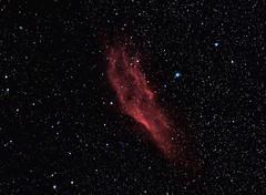 The inevitable California Nebula repro (BudgetAstro) Tags: nikond70 astrophotography astronomy dss perseus 55200mmf456g ngc1499 californianebula deepskystacker Astrometrydotnet:status=solved Astrometrydotnet:version=14400 Astrometrydotnet:id=alpha20111185874072