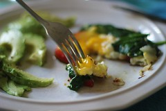 (juliette sandbox) Tags: food breakfast avocado egg spinach