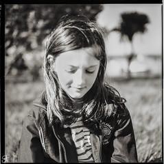 Dreaming (Stephen Holmes) Tags: blackandwhite bw 6x6 film mediumformat dof iso400 trix hasselblad f28 shallowdof 503cx