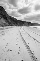Imprint. (Instagram: ELEVATEDIMAGERY) Tags: ocean california blackandwhite sexy beach girl beautiful sex crazy interesting sandiego tracks footprints teen drugs sexual southerncalifornia rockandroll iphone blacksbeach joeybelloise