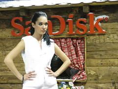 modella SanDisk (Sound80Roma) Tags: show new blue red portrait roma art canon photography photo andrea luna di pace sole luce vento 2012 fiera photoshow amare g9 ferrante sound80roma wwwsound80romait