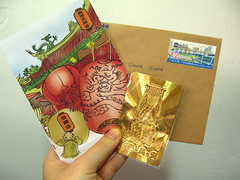 &  (slowpoke_taiwan) Tags: festival writing handwriting office post postcard postoffice taiwan card letter lantern   lugang township 2012    shinyi chunghua  lukang        taiwanlanternfestival     lukangtownship      101 101 2012    03192012