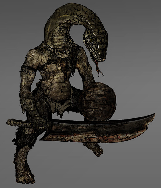 Dark Souls for PS3: Snake Man
