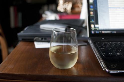 wine + work