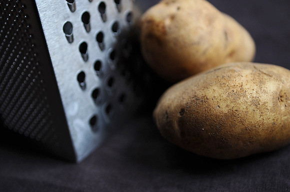 Potato and Grater