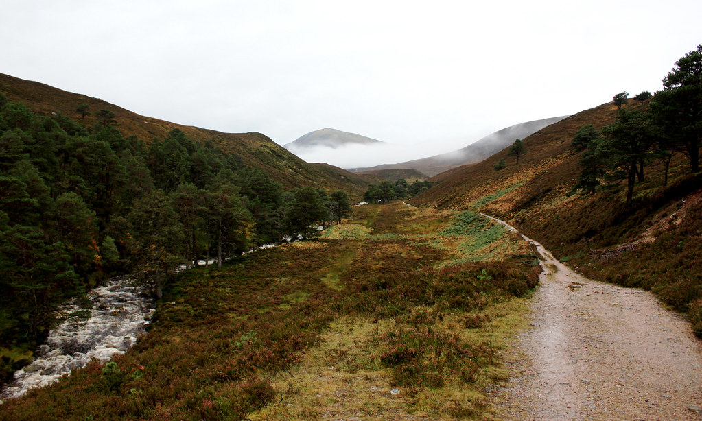 Wandering through Glen Einich