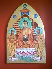 Sheffield Buddhist Centre Buddhas