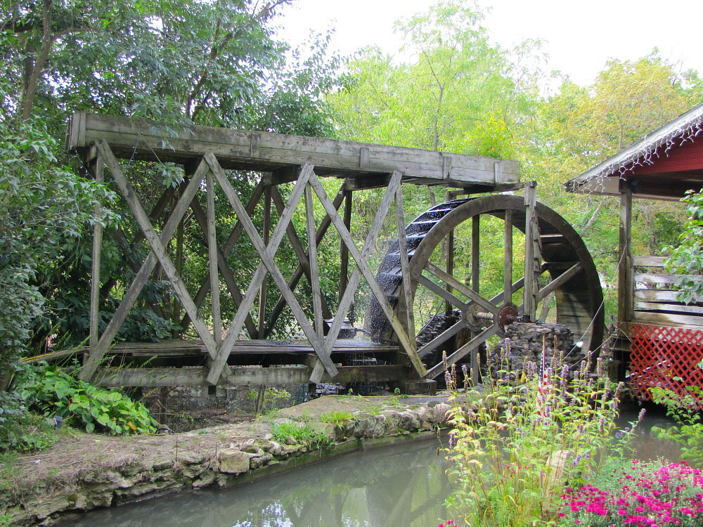 Water Wheel at Clifton Mill