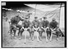 [Hank Gowdy, Dick Rudolph, Lefty Tyler, Joey Connolly, Oscar Dugey (baseball)]  (LOC) (The Library of Congress) Tags: philadelphia baseball tyler libraryofcongress rudolph nl braves worldseries nationalleague battingcage connolly gowdy joeconnolly bostonbraves shibepark xmlns:dc=httppurlorgdcelements11 josephconnolly dugey dickrudolph hankgowdy 1914worldseries georgealbertleftytyler georgealberttyler georgeatyler georgetyler leftytyler joeyconnolly henrymorgangowdy henrymgowdy henrygowdy richardrudolph josephaloysiusconnolly josephaconnolly dc:identifier=httphdllocgovlocpnpggbain17528 oscarjosephdugey oscarjdugey oscardugey