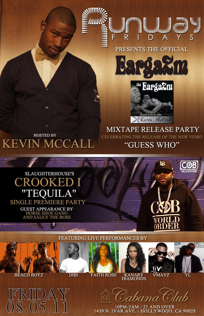 Kevin McCall Mixtape Release, Crooked I's Single Premiere, & More Live!