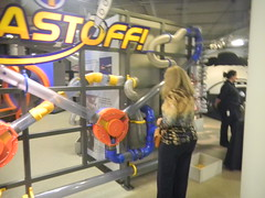 Laura with the Air Tubes