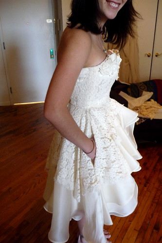 pockets in my wedding dress I knew this dress had to be The One