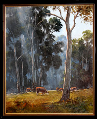 Painting (timeinabox) Tags: cattle australia gift kevinbest timeinabox