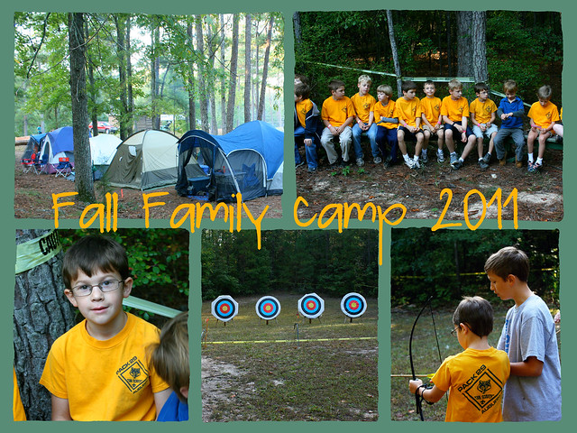 Fall Family Camp 2011