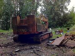 Hitachi UH (FortressPacific) Tags: big massive digger excavator hitachiroadbuilder