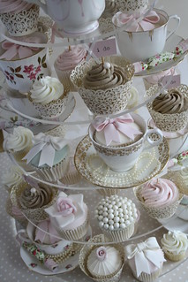 English Tea cupcakes by Cotton and Crumbs