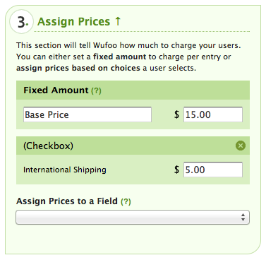 Payment Settings for International Shipping