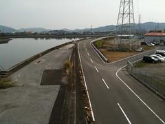 久万川にかかる橋から by haruhiko_iyota