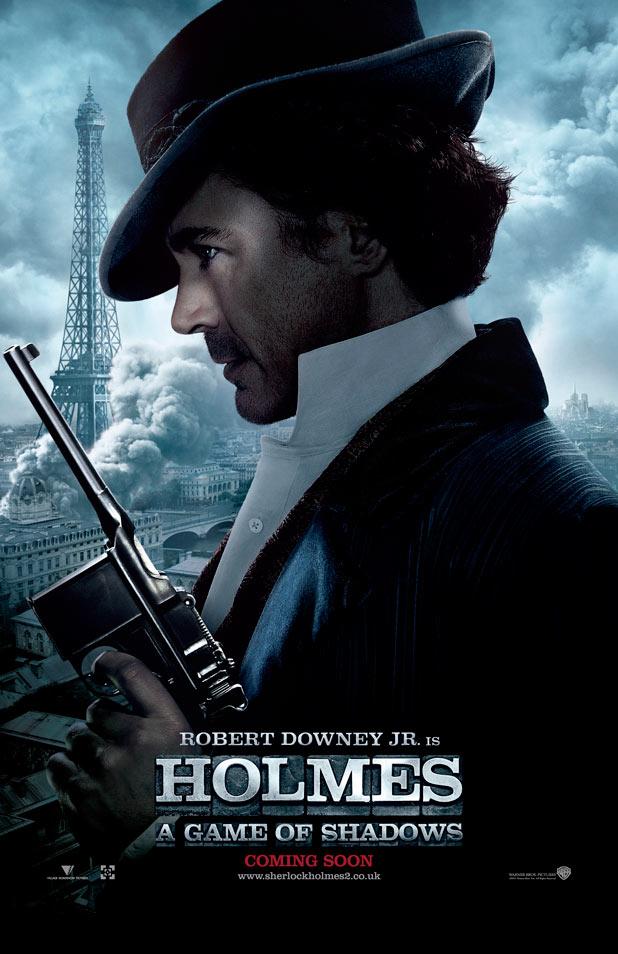 Robert Downey, Jr. is Sherlock Holmes