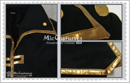 Gintama Okita Sougo Cosplay Costume1